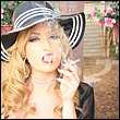 Angela Sommers cigarette smoker